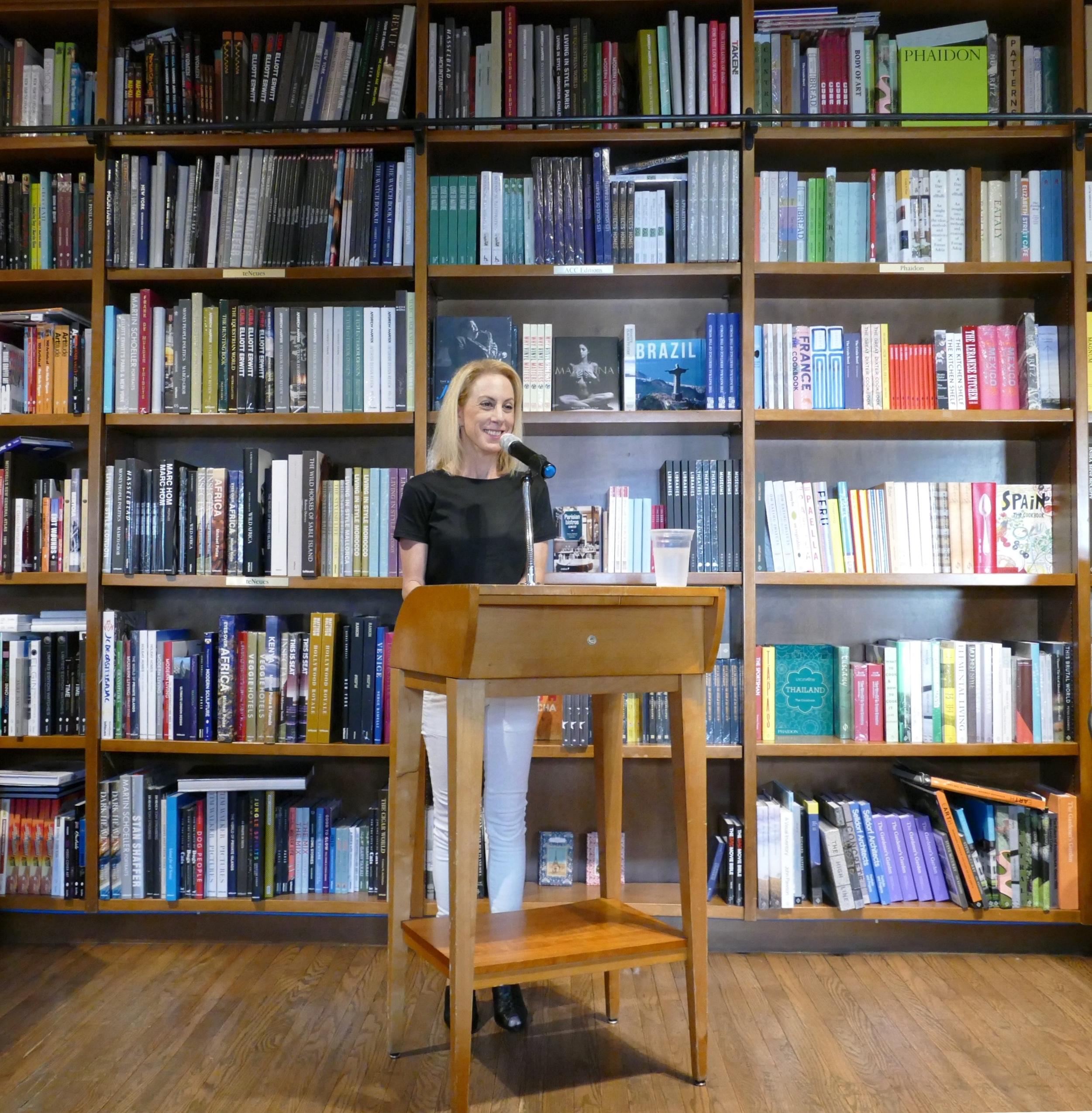 Jen Karetnick head shot Books & Books 9
